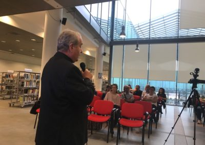 Festival B&N 2017_Nello Scavo (Avvenire) presentazione del libro Perseguitati_Arcivescovo