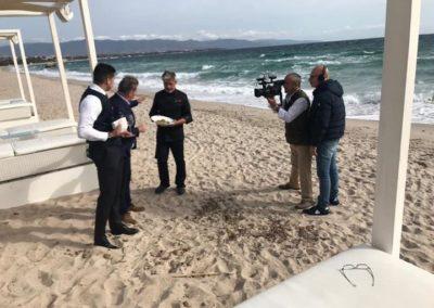Gioacchino Bonsignore ( Mediaset) Paccheri e curcuma + cooking show con lo Chef Marcello Putzu 2
