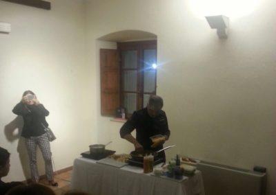 Gioacchino Bonsignore ( Mediaset) Paccheri e curcuma + cooking show con lo Chef Marcello Putzu 5